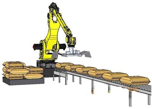 机器人码垛